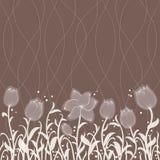 Configuration florale d'invitation de vecteur Images stock