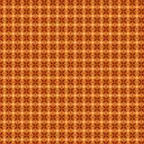 Configuration florale de Brown Illustration Stock