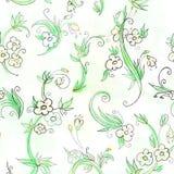 Configuration florale de fond sans joint Image stock