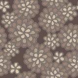 Configuration florale de lacet de vecteur Image stock