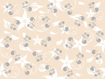 Configuration florale de Seemless Image libre de droits