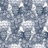 Configuration florale de vecteur sans joint illustration de vecteur