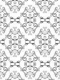 Configuration florale de victorian Photos libres de droits