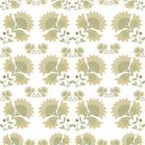Configuration florale Modèle sans couture de textile de vintage impression Images libres de droits