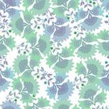 Configuration florale Modèle sans couture de textile de vintage impression Photo libre de droits