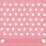 Configuration florale rose illustration libre de droits