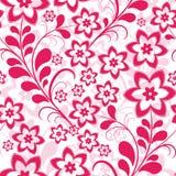 Configuration florale rose sans joint Images stock