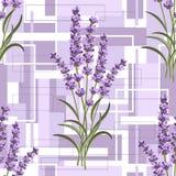 Configuration florale sans joint illustration libre de droits