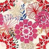 Configuration florale sans joint illustration stock