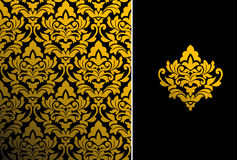 Configuration florale sans joint Photos libres de droits