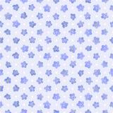 Configuration florale sans joint. illustration stock