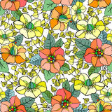 Configuration florale sans joint Photo stock