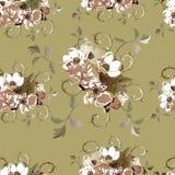 Configuration florale sans joint 5 Photographie stock libre de droits