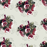 Configuration florale sans joint 4 Photos libres de droits