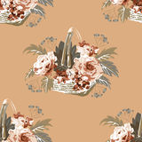 Configuration florale sans joint 10 Photo libre de droits