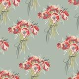 Configuration florale sans joint 3 Images stock