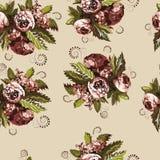 Configuration florale sans joint 1 Photographie stock libre de droits