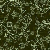 Configuration florale sans joint Image stock