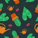 Configuration florale sans joint Images libres de droits