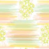Configuration florale sans joint avec des pistes Images libres de droits