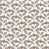Configuration florale sans joint de vecteur Photo stock