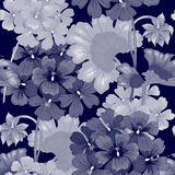 Configuration florale sans joint de vecteur illustration libre de droits