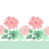 Configuration florale sans joint de vecteur illustration de vecteur
