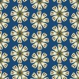 Configuration florale sans joint de vecteur Image stock