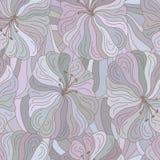 Configuration florale sans joint de vecteur Conception de style de Boho Photo libre de droits