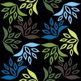 Configuration florale sans joint Laissez la texture illustration stock