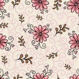Configuration florale sans joint Style coloré lumineux abstrait moderne Tiré par la main, - actions Fond ou papier peint, modèle Photos stock