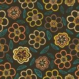 Configuration florale sans joint Texture de fleurs Marguerite Image stock
