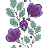Configuration florale sans joint (vecteur) illustration stock