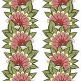 Configuration florale sans joint (vecteur) illustration de vecteur