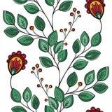 Configuration florale sans joint (vecteur) illustration libre de droits