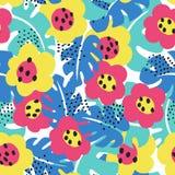 Configuration florale tropicale Photographie stock
