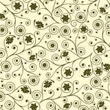 Configuration florale, vecteur Images libres de droits