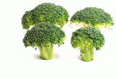 Configuration fraîche de broccoli Images libres de droits