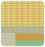 Configuration géométrique Illustration Stock