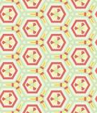 Configuration géométrique abstraite sans joint Photos libres de droits