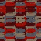 Configuration géométrique abstraite sans joint La texture des bandes brushwork Hachure de main Texture de griffonnage Photo libre de droits