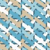 Configuration géométrique abstraite sans joint La texture des bandes brushwork Hachure de main Texture de griffonnage Image stock