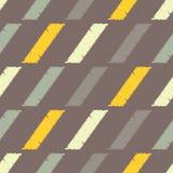 Configuration géométrique abstraite sans joint La texture des bandes brushwork Hachure de main Texture de griffonnage Photographie stock libre de droits