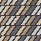 Configuration géométrique abstraite sans joint La texture des bandes brushwork Hachure de main Texture de griffonnage Photos stock