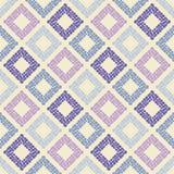 Configuration géométrique abstraite sans joint La texture du losange La texture des points brushwork Hachure de main Photographie stock