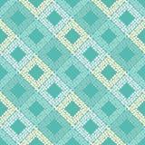 Configuration géométrique abstraite sans joint La texture du losange La texture des points brushwork Hachure de main Photographie stock libre de droits