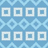 Configuration géométrique abstraite sans joint La texture du losange La texture des points brushwork Hachure de main Image stock