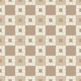Configuration géométrique abstraite sans joint Plancher de Brown avec la texture en bois Couvre-tapis asiatique Hachure de main T illustration libre de droits