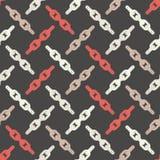 Configuration géométrique abstraite sans joint Texture de mosaïque Texture à chaînes brushwork Hachure de main Texture de griffon Photographie stock