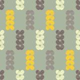 Configuration géométrique abstraite sans joint Texture de mosaïque brushwork Hachure de main Texture de griffonnage Illustration Libre de Droits